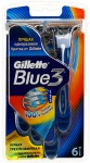 Одноразовые станки Gillette Blue 3