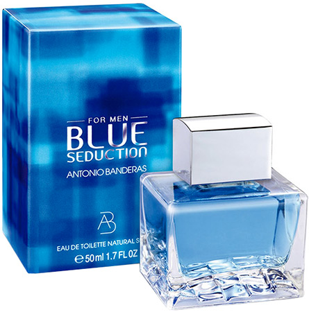 Antonio Banderas Blue Seduction Man