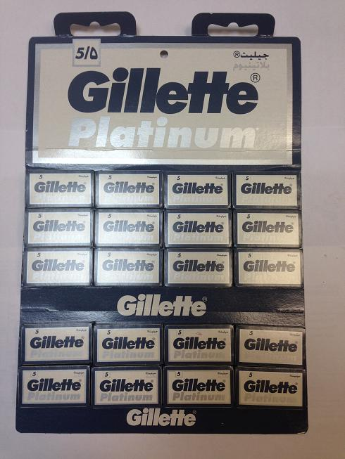 Лезвия Gillette Platinum