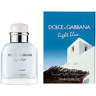 Dolce & Gabbana Light Blue Pour Homme Living Stromboli