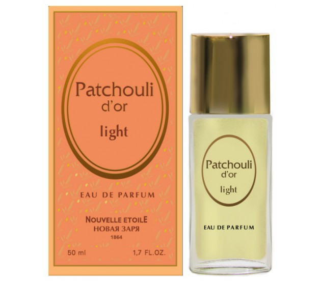 Новая Заря Золотая Пачули Лайт Patchouli D'or Light
